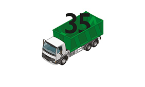 35 cubic yard RoRo