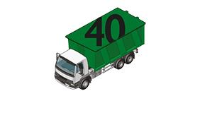 40 cubic yard RoRo