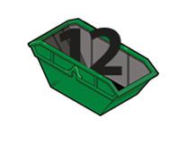 12 cubic yard skip